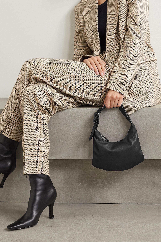 Gu_de Lisa small leather shoulder bag