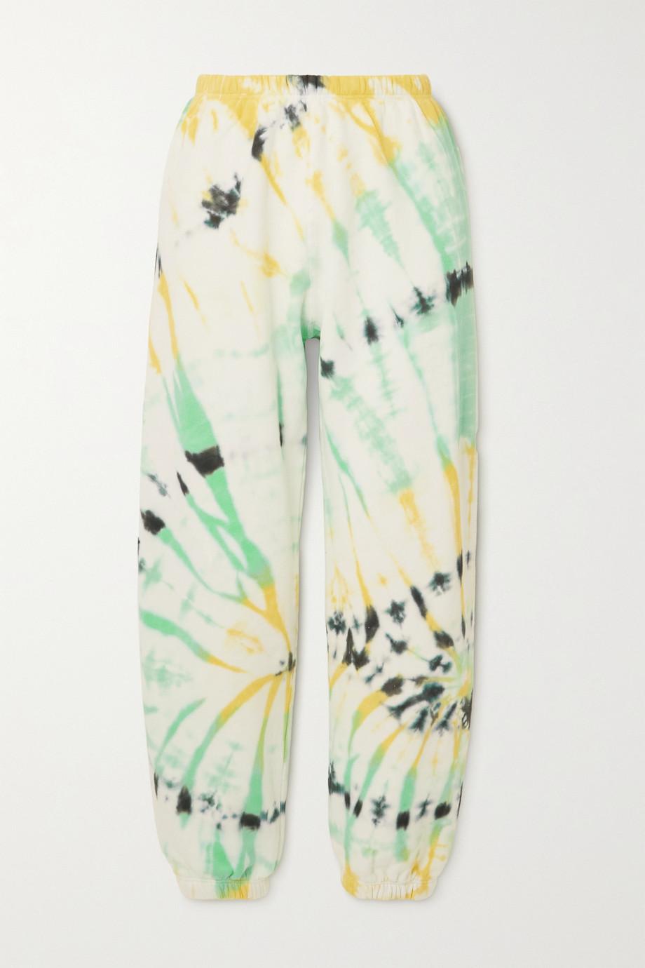SPRWMN Pantalon de survêtement en jersey de coton tie & dye