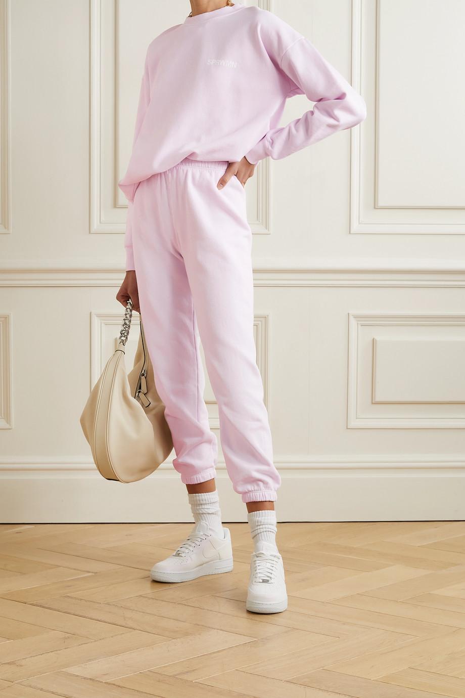 SPRWMN Pantalon de survêtement en jersey de coton