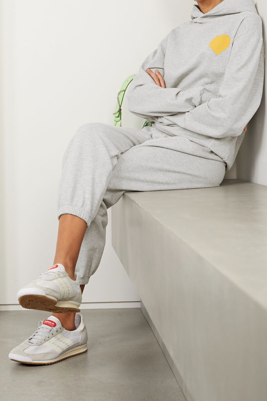 SPRWMN Printed cotton-jersey hoodie