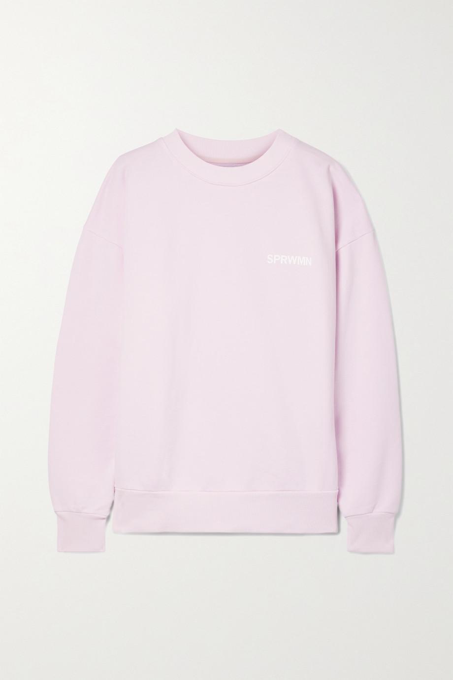 SPRWMN Cotton-jersey sweatshirt