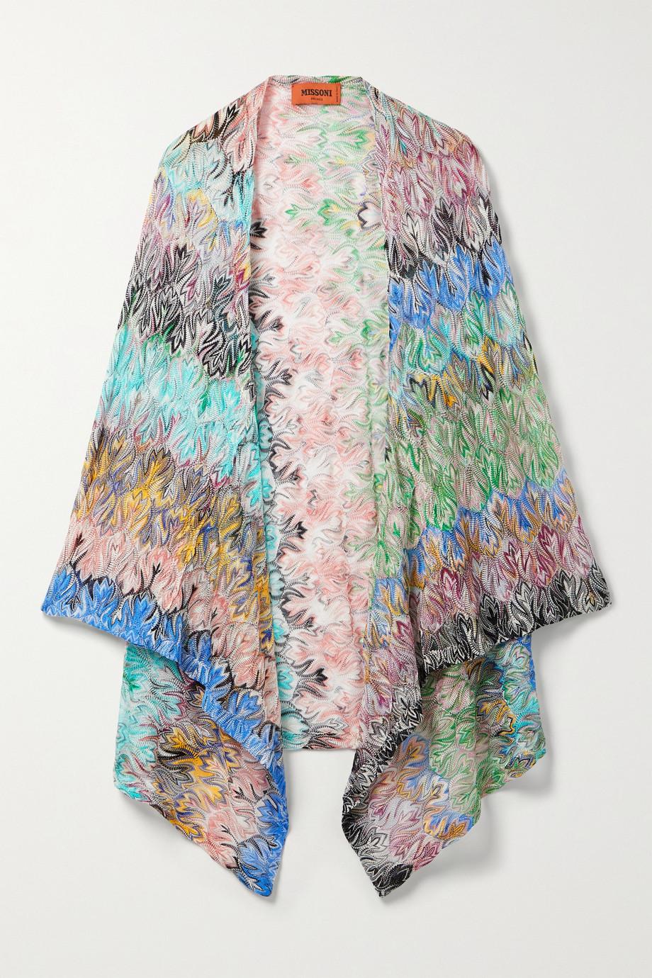Missoni Crochet-knit wrap