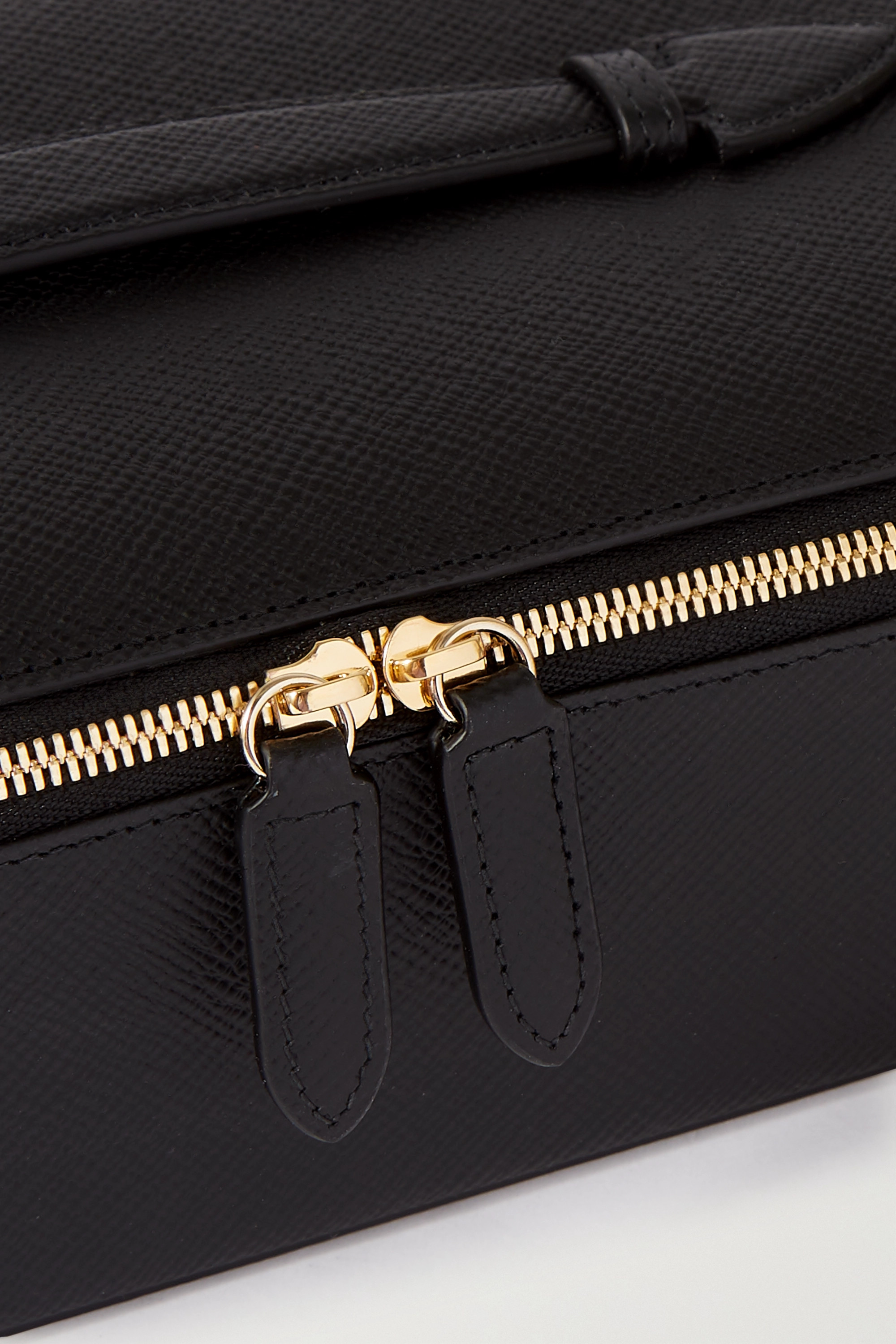 Smythson Panama Schmuckkasten aus strukturiertem Leder