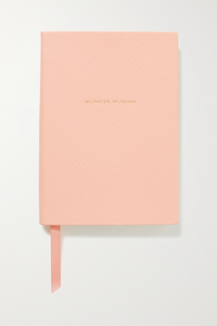 Smythson Wonder Woman Soho textured-leather notebook