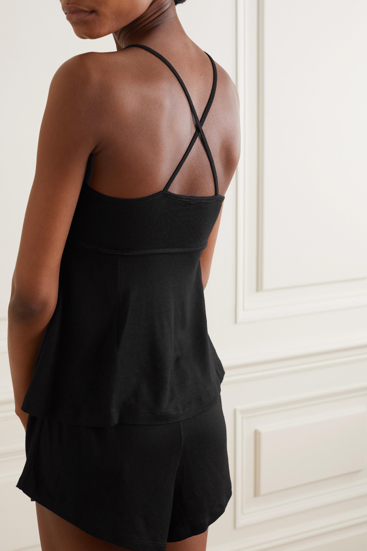 Ninety Percent + NET SUSTAIN Pyjama aus gebürstetem Tencel™