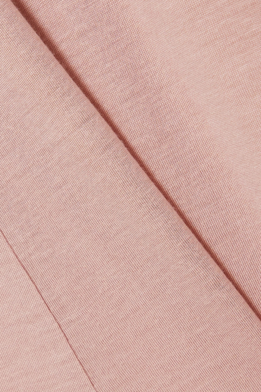 Ninety Percent + NET SUSTAIN cutout brushed-TENCEL Lyocell nightdress
