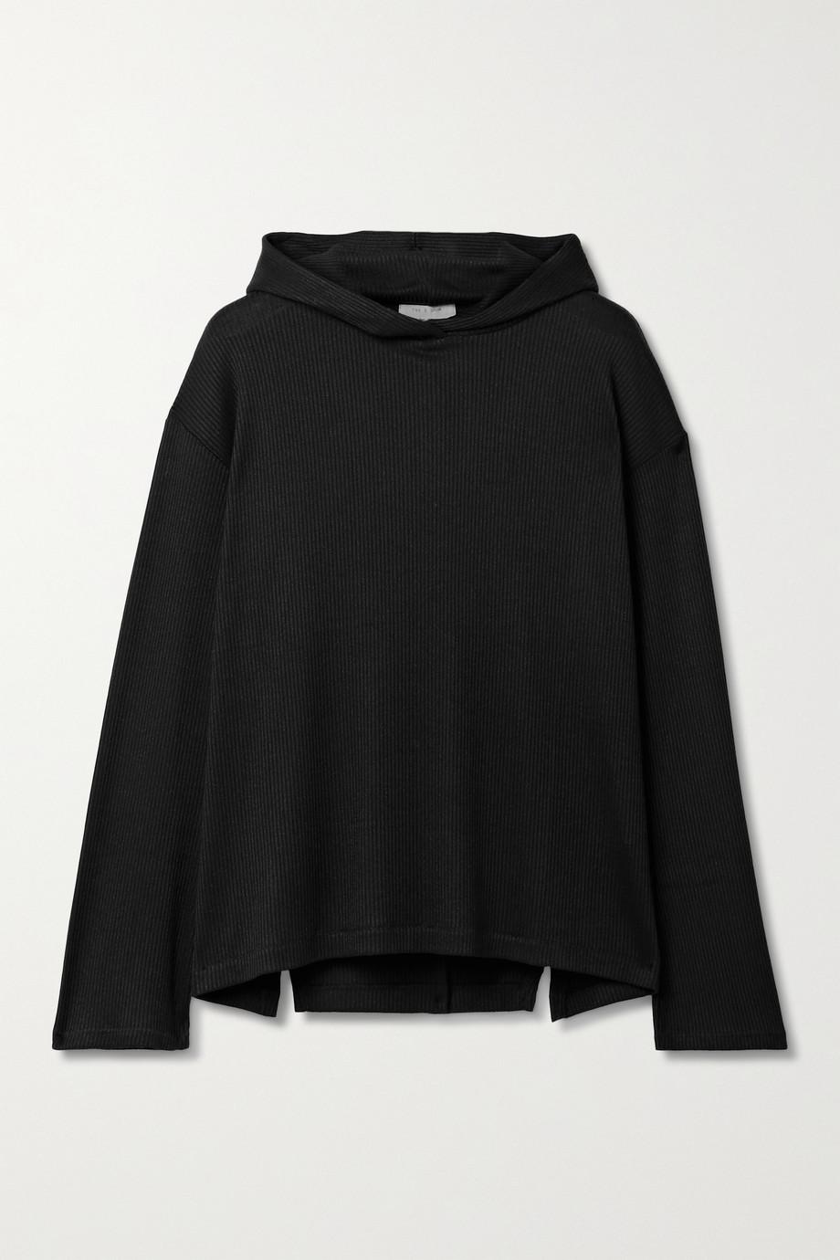 rag & bone Ribbed-knit hoodie