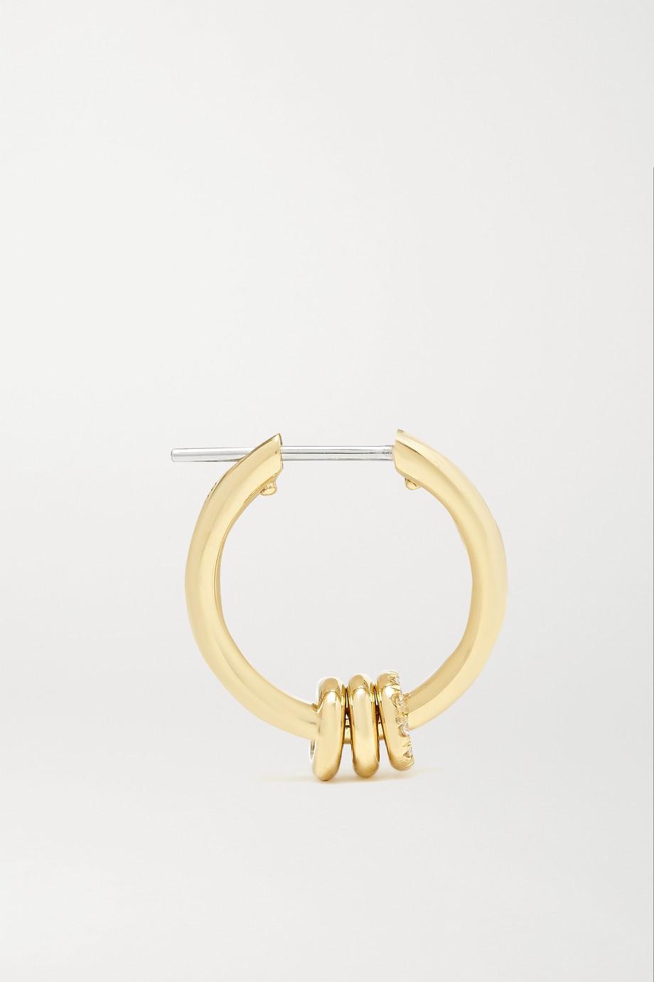 Spinelli Kilcollin Ara 18K 黄金钻石耳环