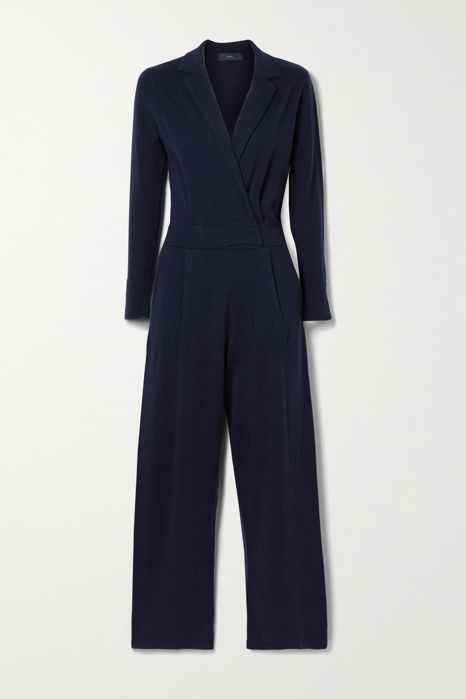 Arch4 Frankie wrap-effect cashmere jumpsuit
