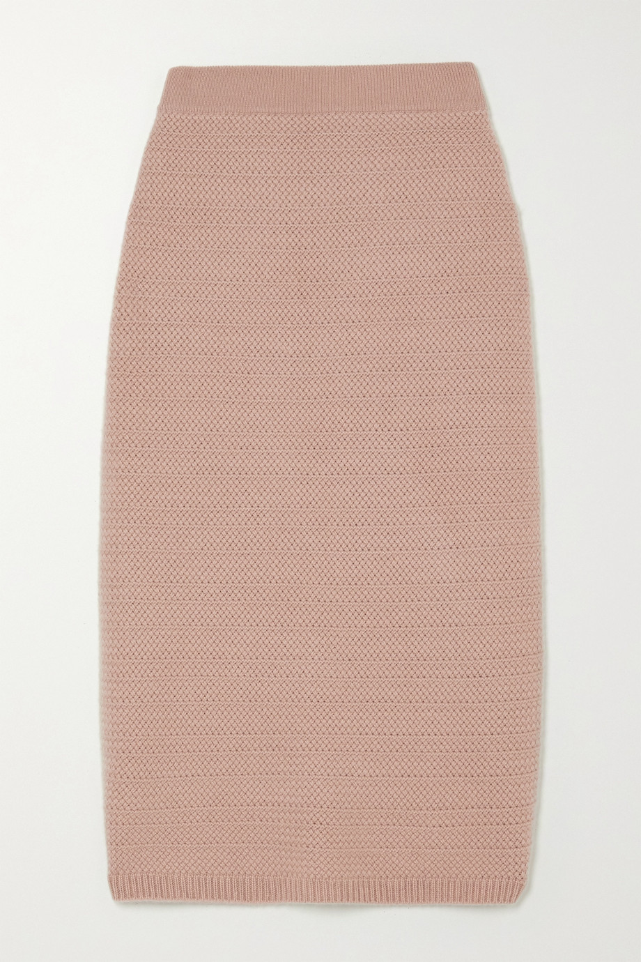 Arch4 Tower Bridge cashmere midi skirt