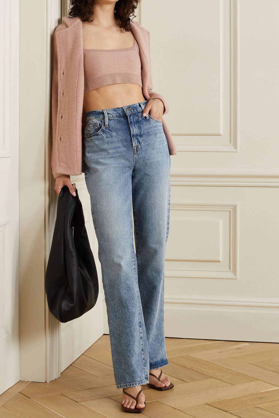 Arch4 Imperial cropped cashmere camisole