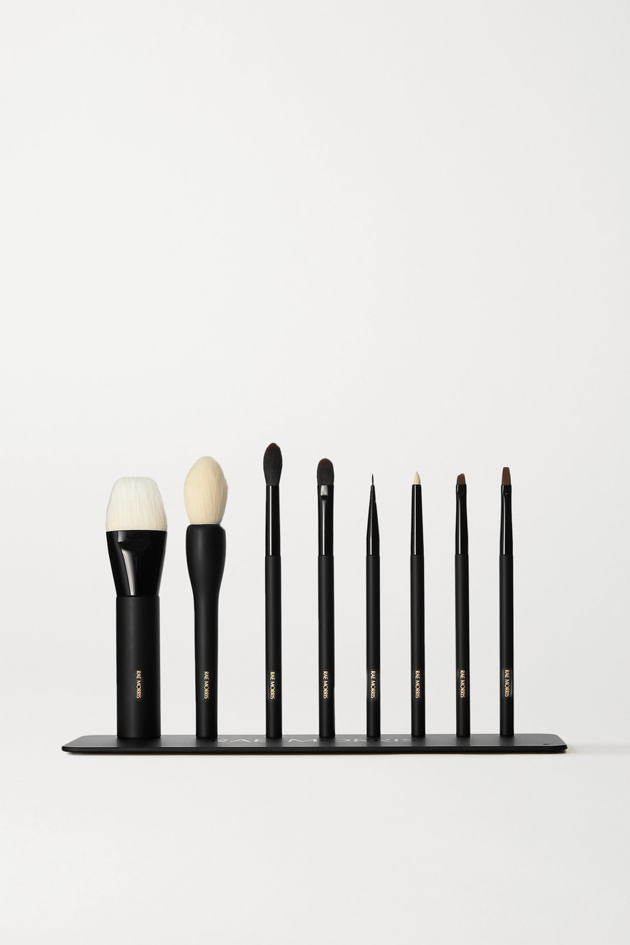 Rae Morris Personal 8 Brush Set and Plate – Set aus 8 Pinseln und Halter