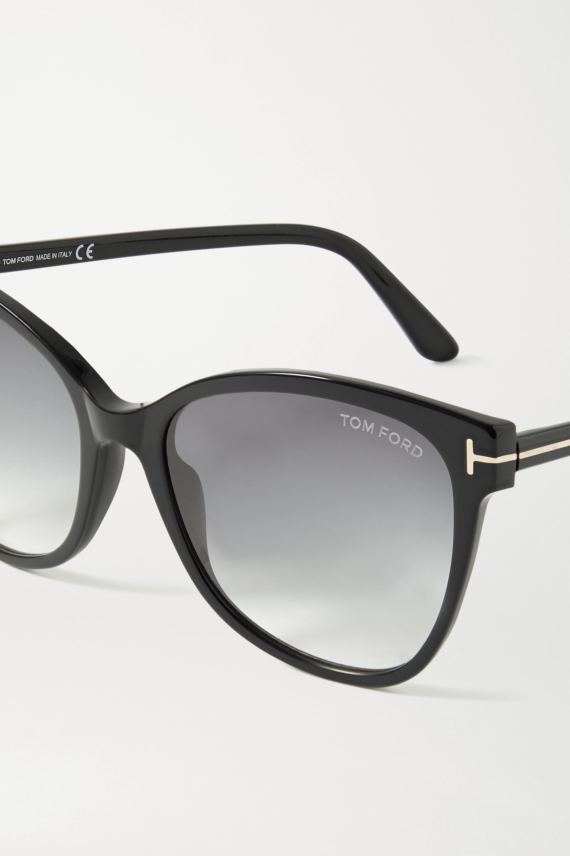 TOM FORD Ani Cat-Eye-Sonnenbrille aus Azetat