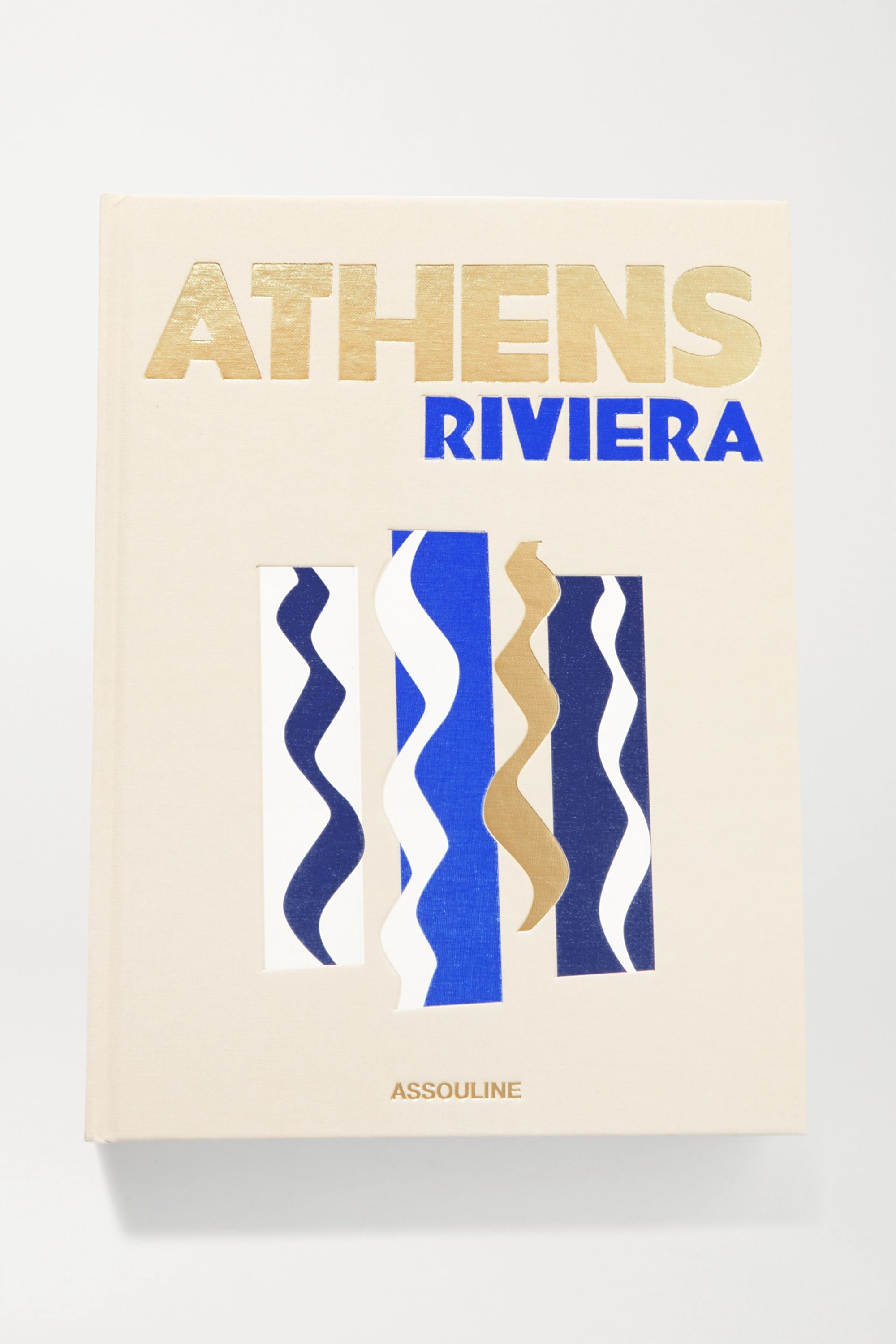 Assouline Athens Riviera by Stéphanie Artarit hardcover book