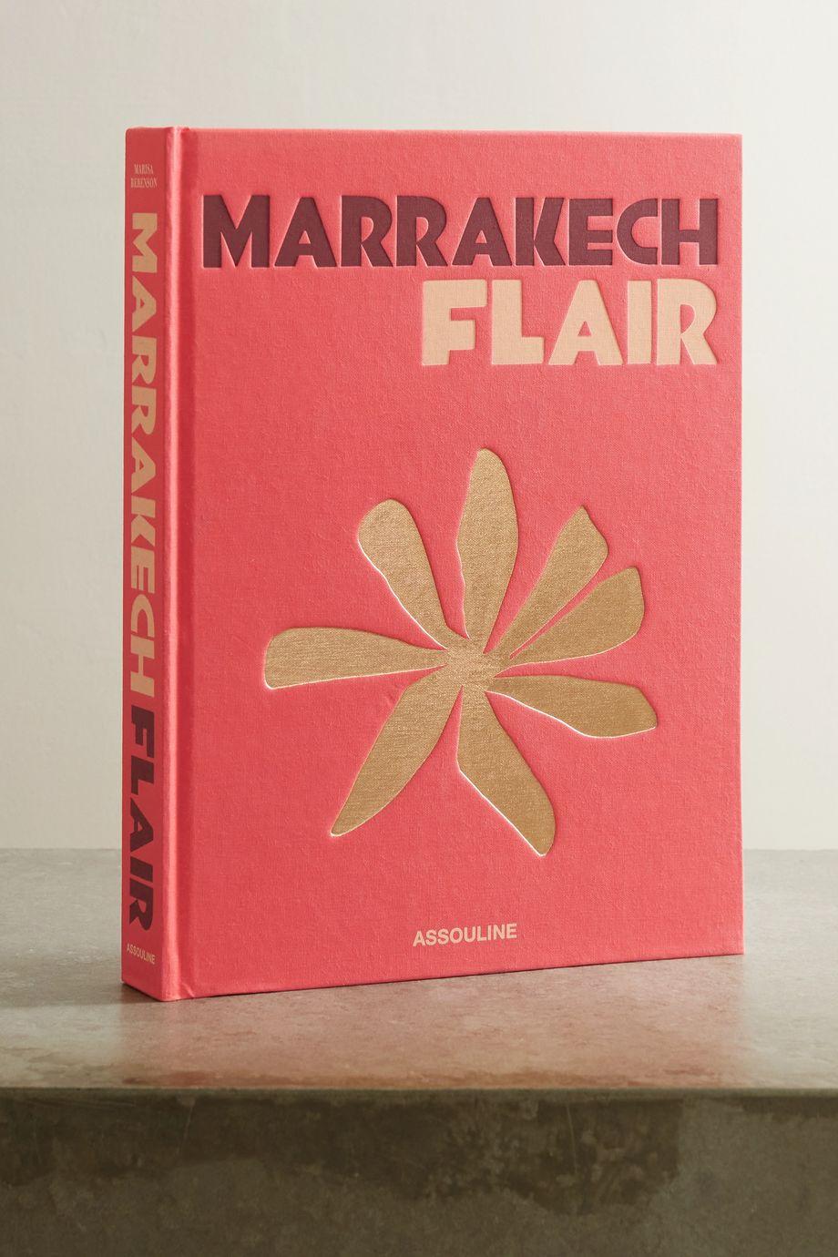 Assouline Marrakech Flair by Marisa Berenson hardcover book