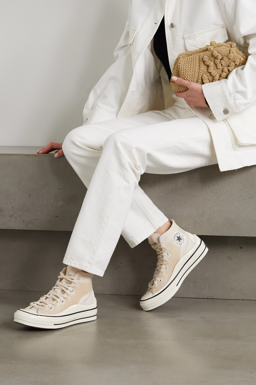 Converse + Kim Jones Chuck 70 canvas and TPU high-top sneakers