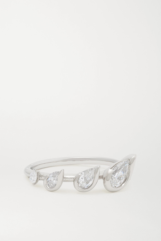 Fernando Jorge Flicker Ring aus 18 Karat Weißgold mit Diamanten