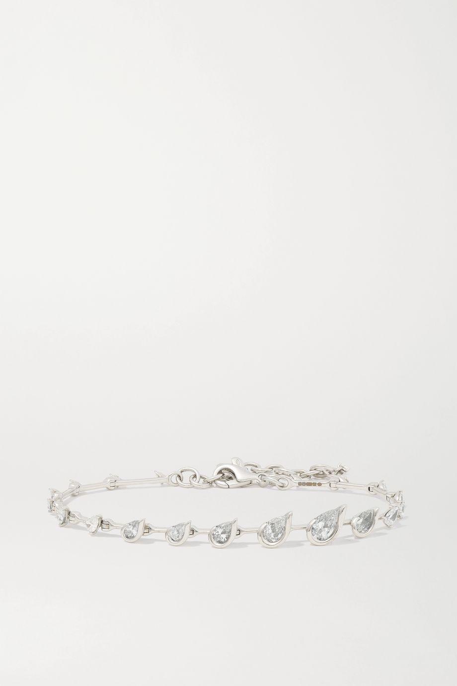 Fernando Jorge Flicker Armband aus 18 Karat Weißgold mit Diamanten