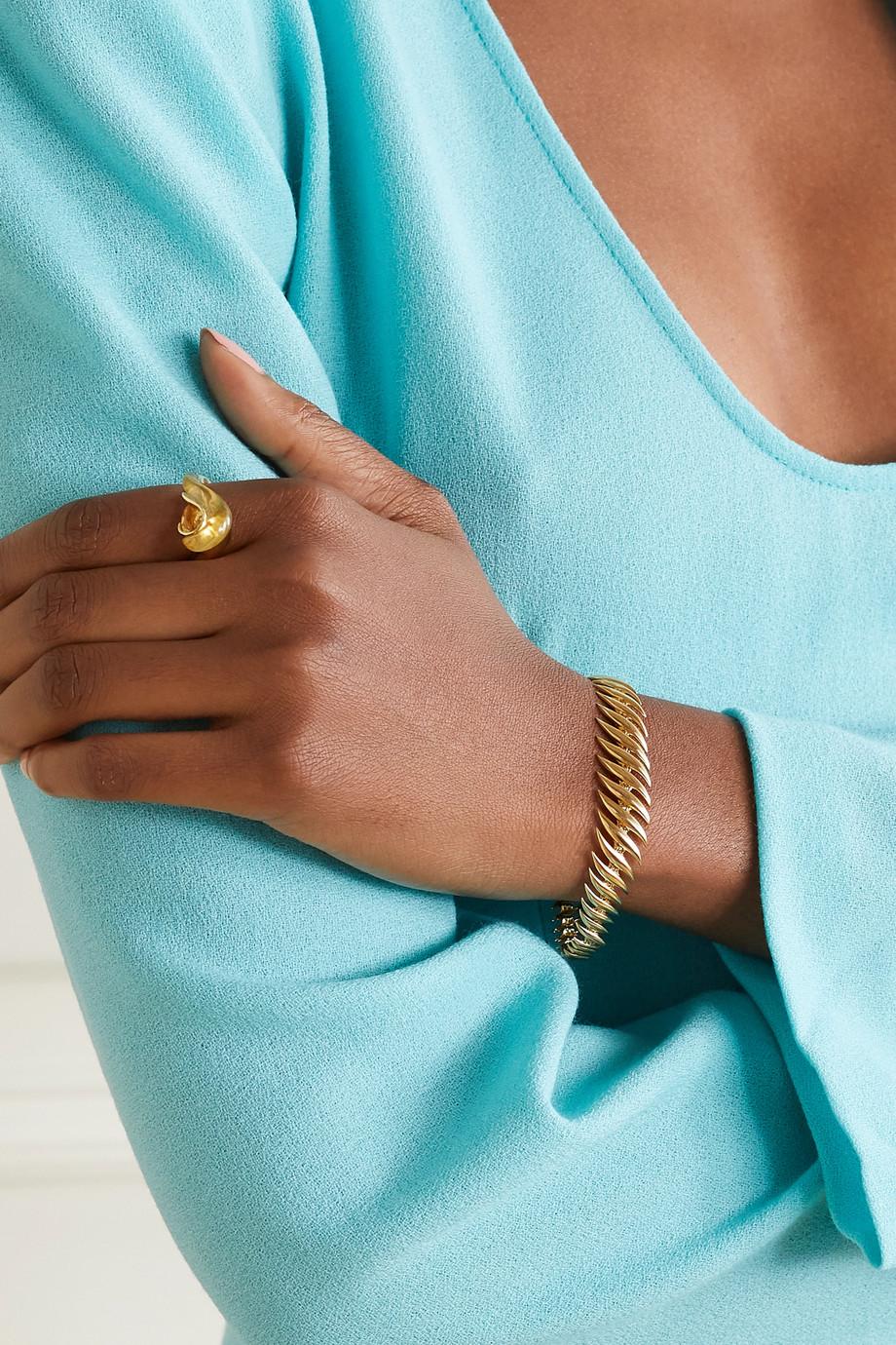 Fernando Jorge Flame Small 18-karat gold bracelet
