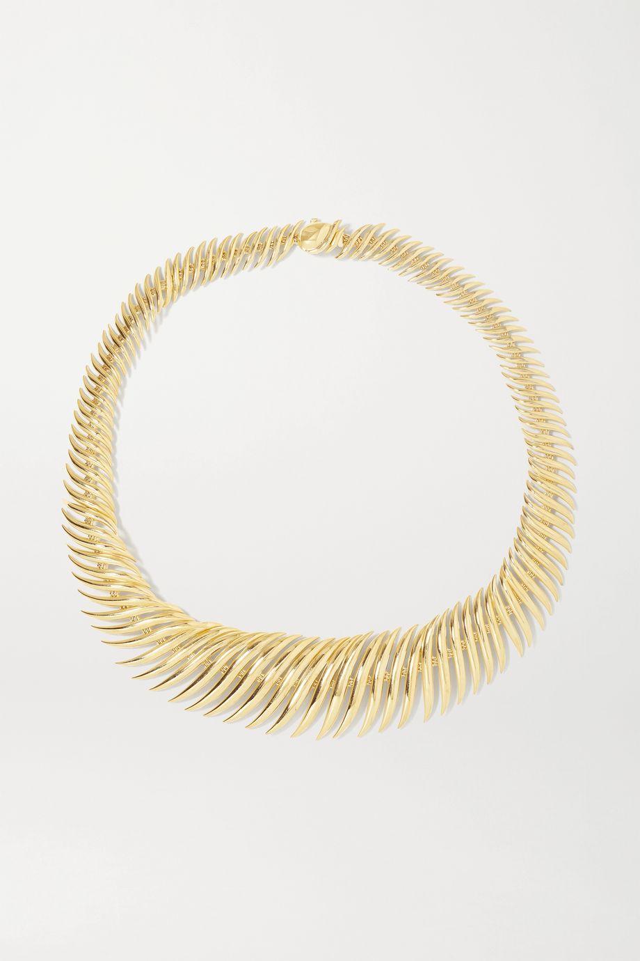 Fernando Jorge Flame 18-karat gold necklace