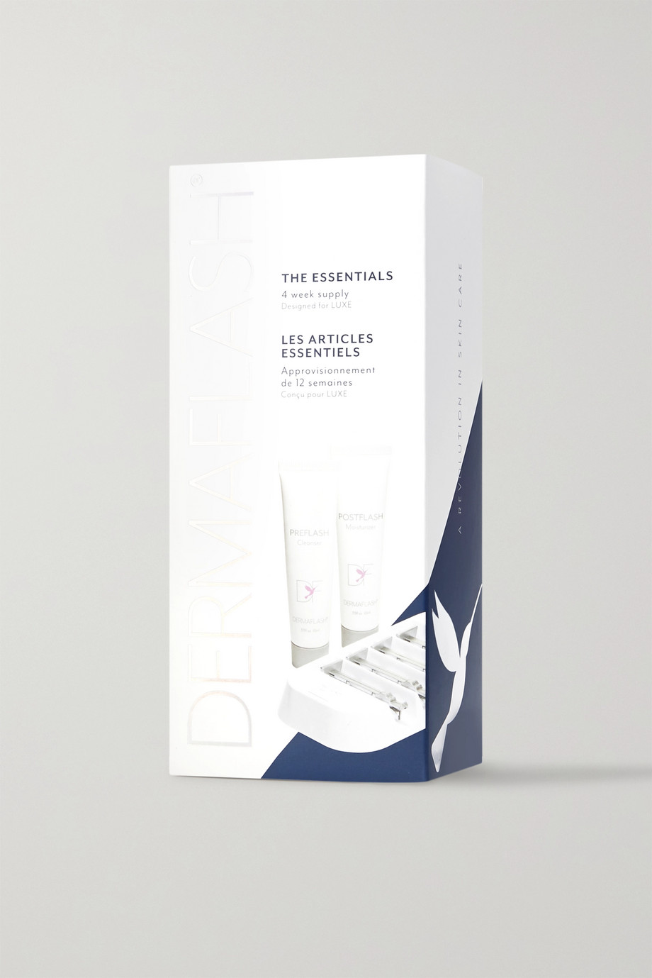 Dermaflash DERMAFLASH Luxe Essentials Replenishment Kit x 4 – Nachfüll-Set aus Klingen und Gesichtspflege