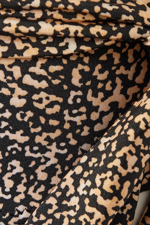 Evarae + NET SUSTAIN Yasmeen tie-detailed printed stretch-ECONYL bikini briefs