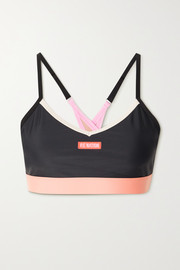 P.E NATION Point Forward recycled stretch sports bra