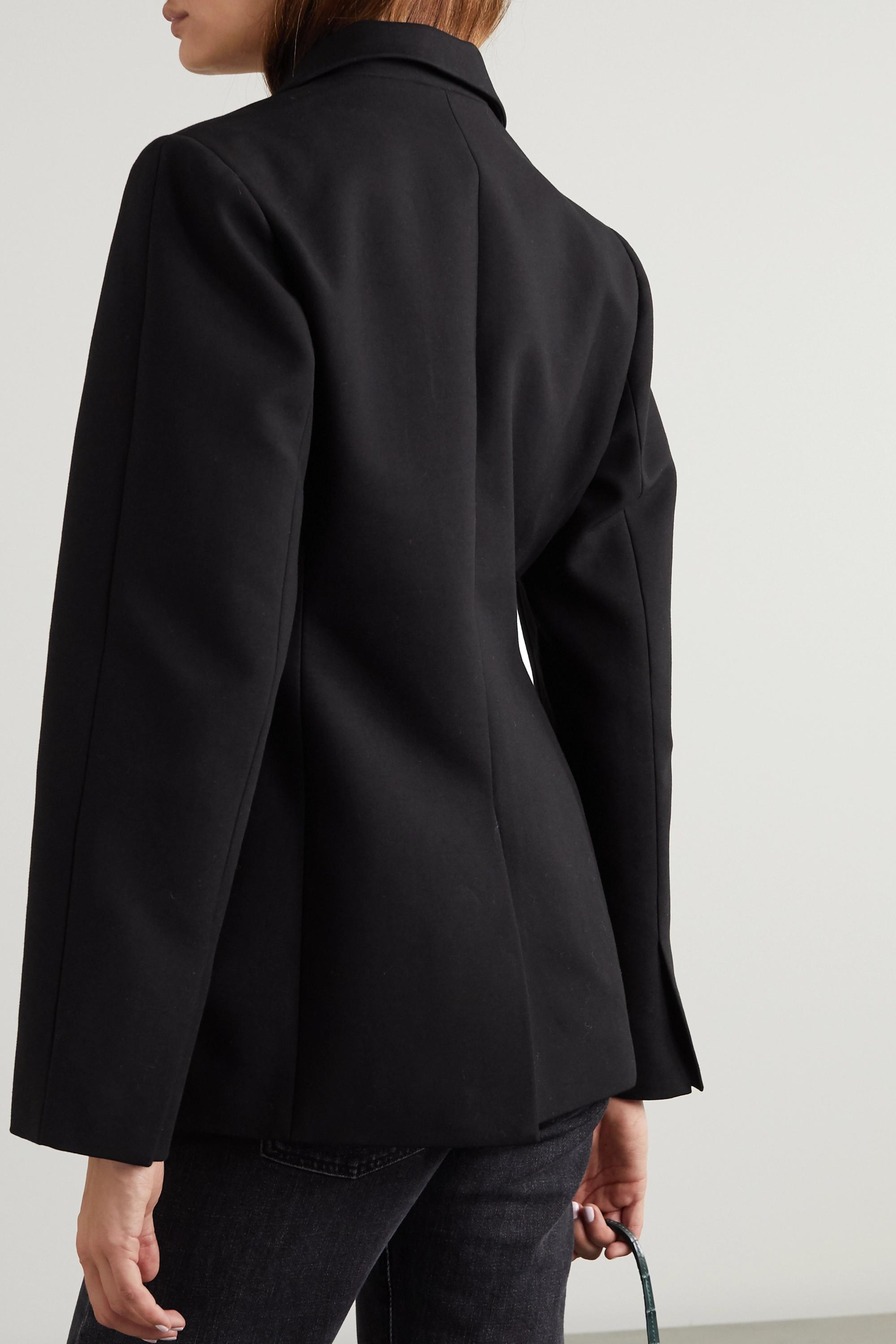 Frankie Shop Cotton blazer