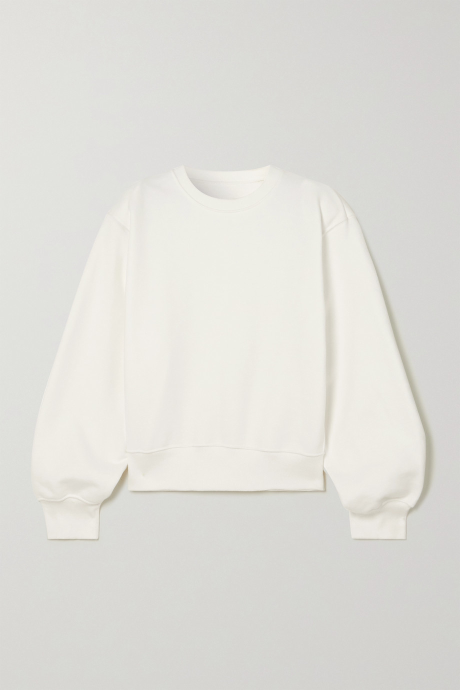 Frankie Shop Vanessa cotton-jersey sweatshirt