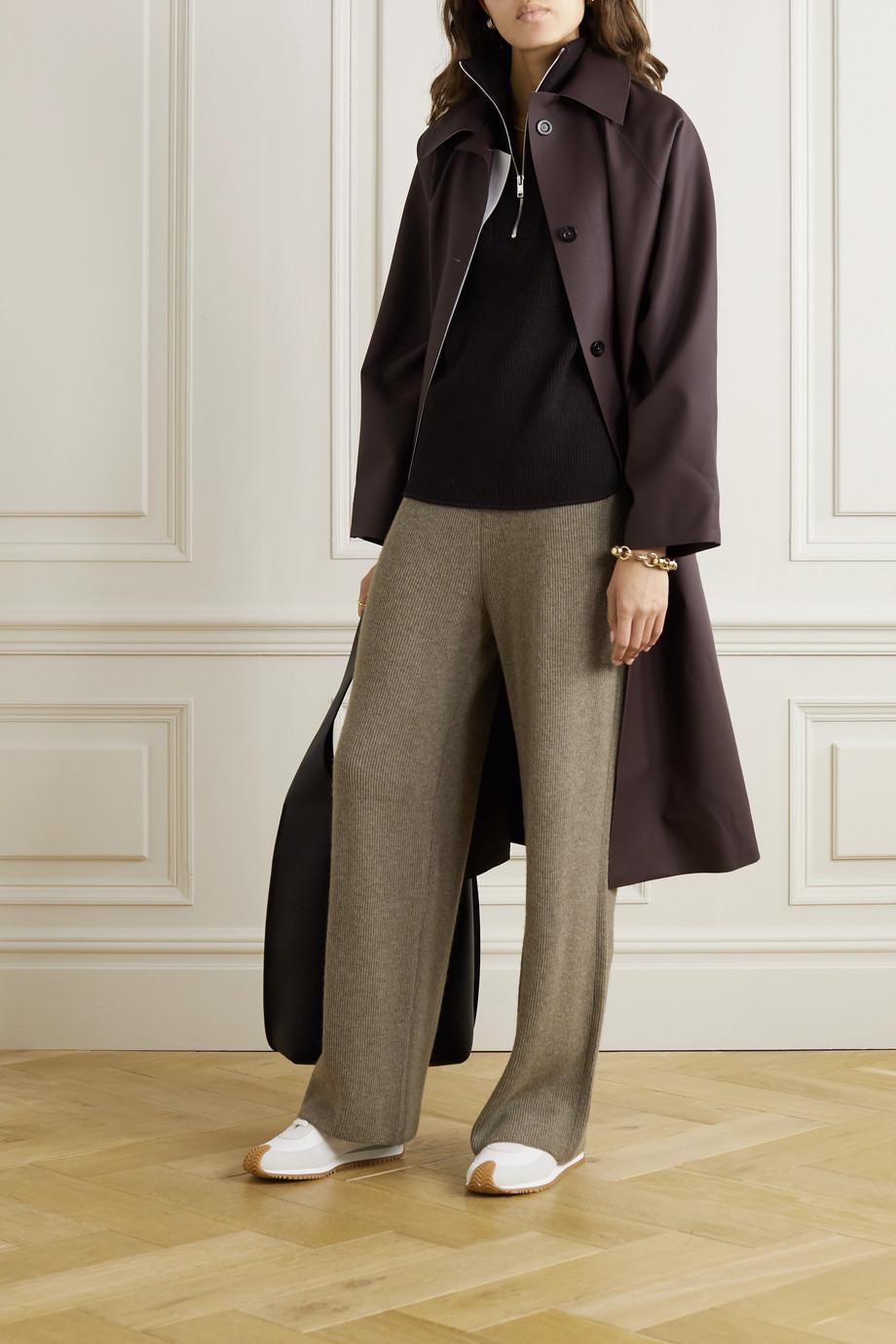 Frankie Shop Ribbed-knit pants