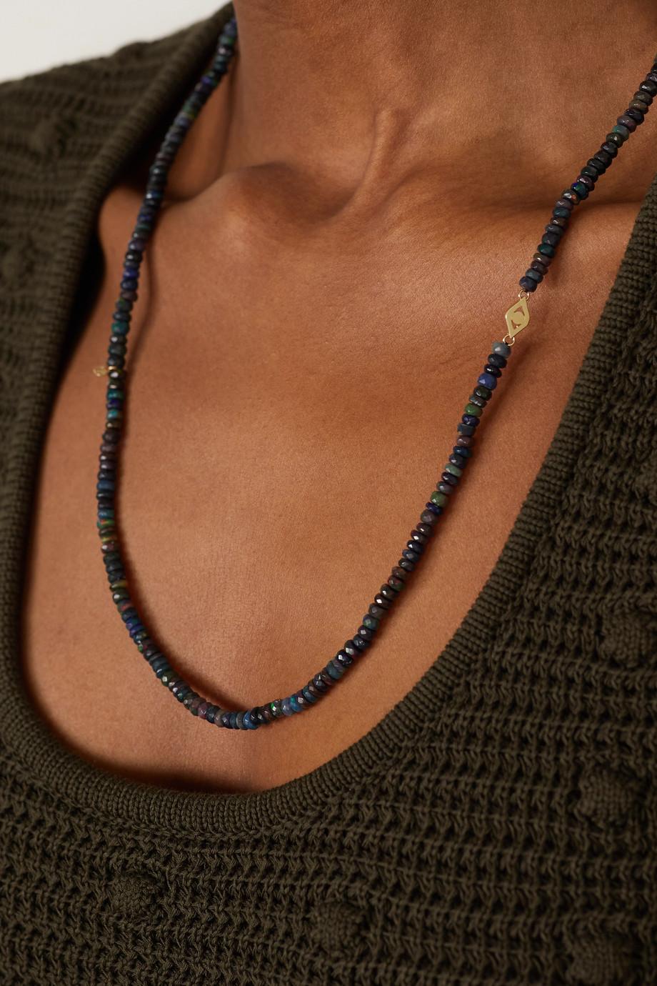 Sydney Evan Collier en or 14 carats et opales