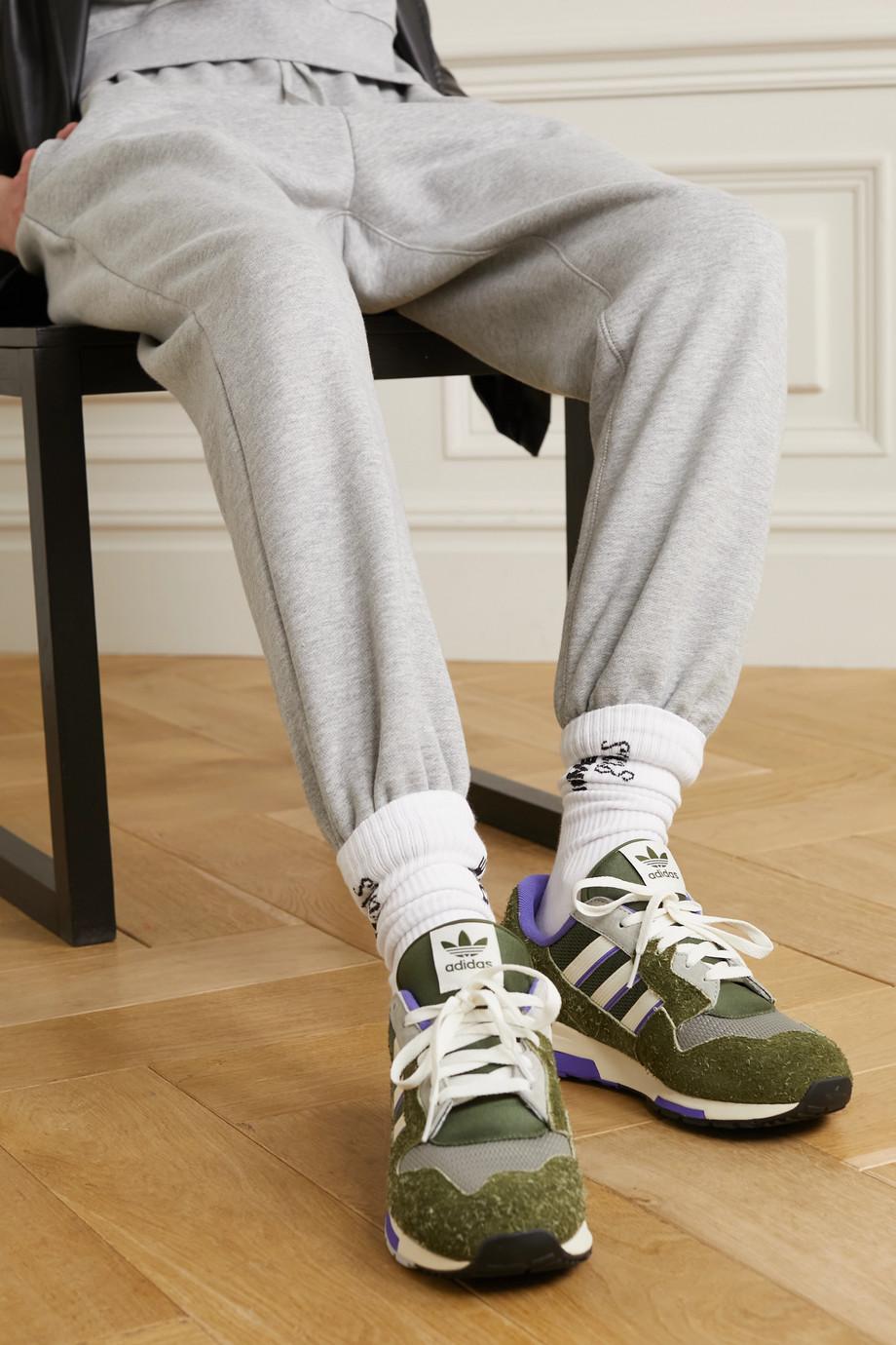 adidas Originals ZX 420 Sneakers aus Veloursleder und Mesh