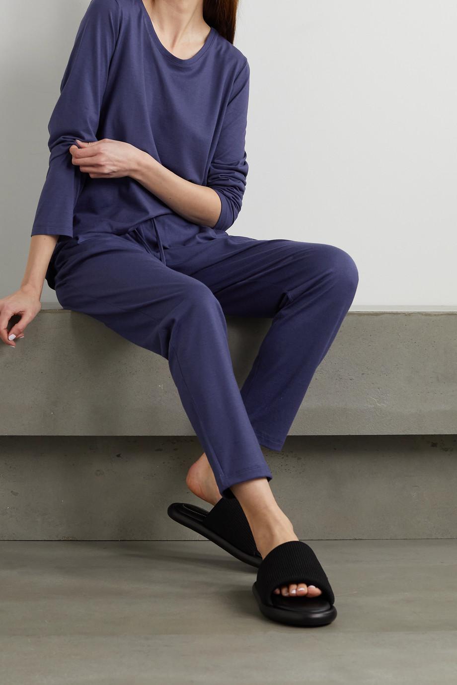 Hanro Cotton and modal-blend pajama pants