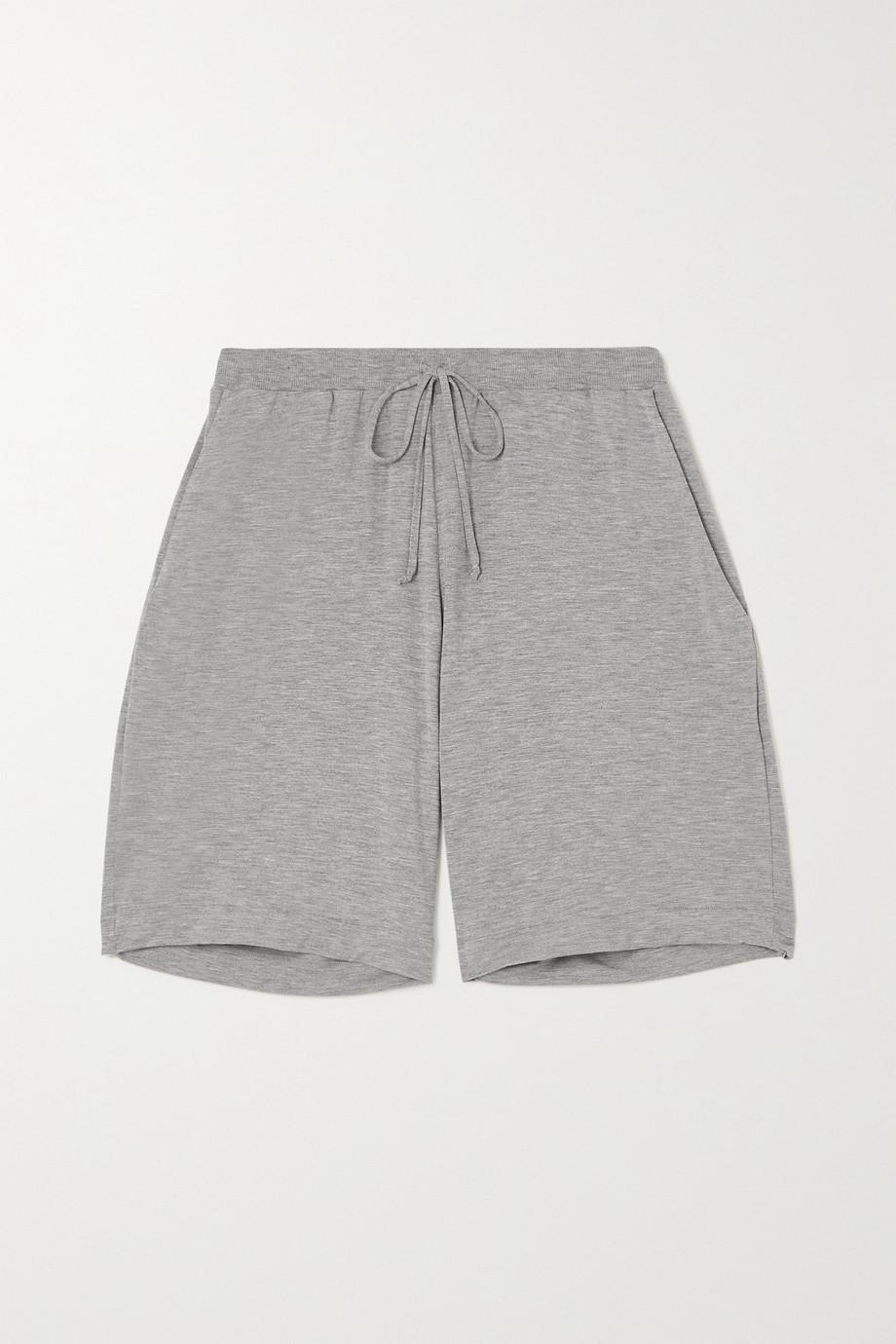 Hanro Short en jersey stretch chiné Natural Elegance