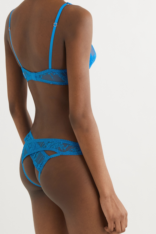 Coco de Mer Mae cutout stretch-lace briefs