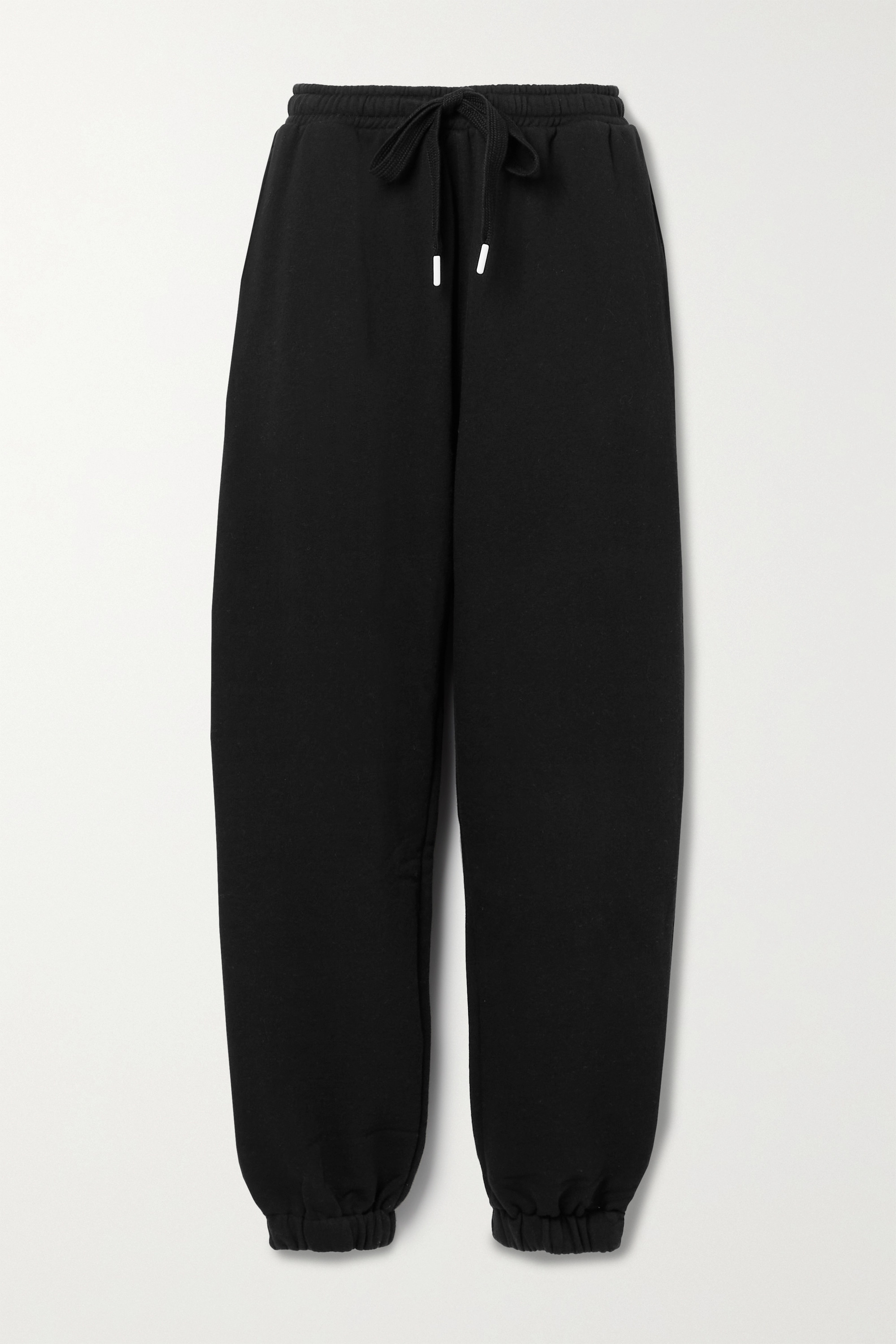The Upside - Major embroidered organic cotton-jersey track pants