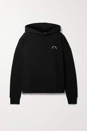 The Upside Embroidered organic cotton-jersey hoodie