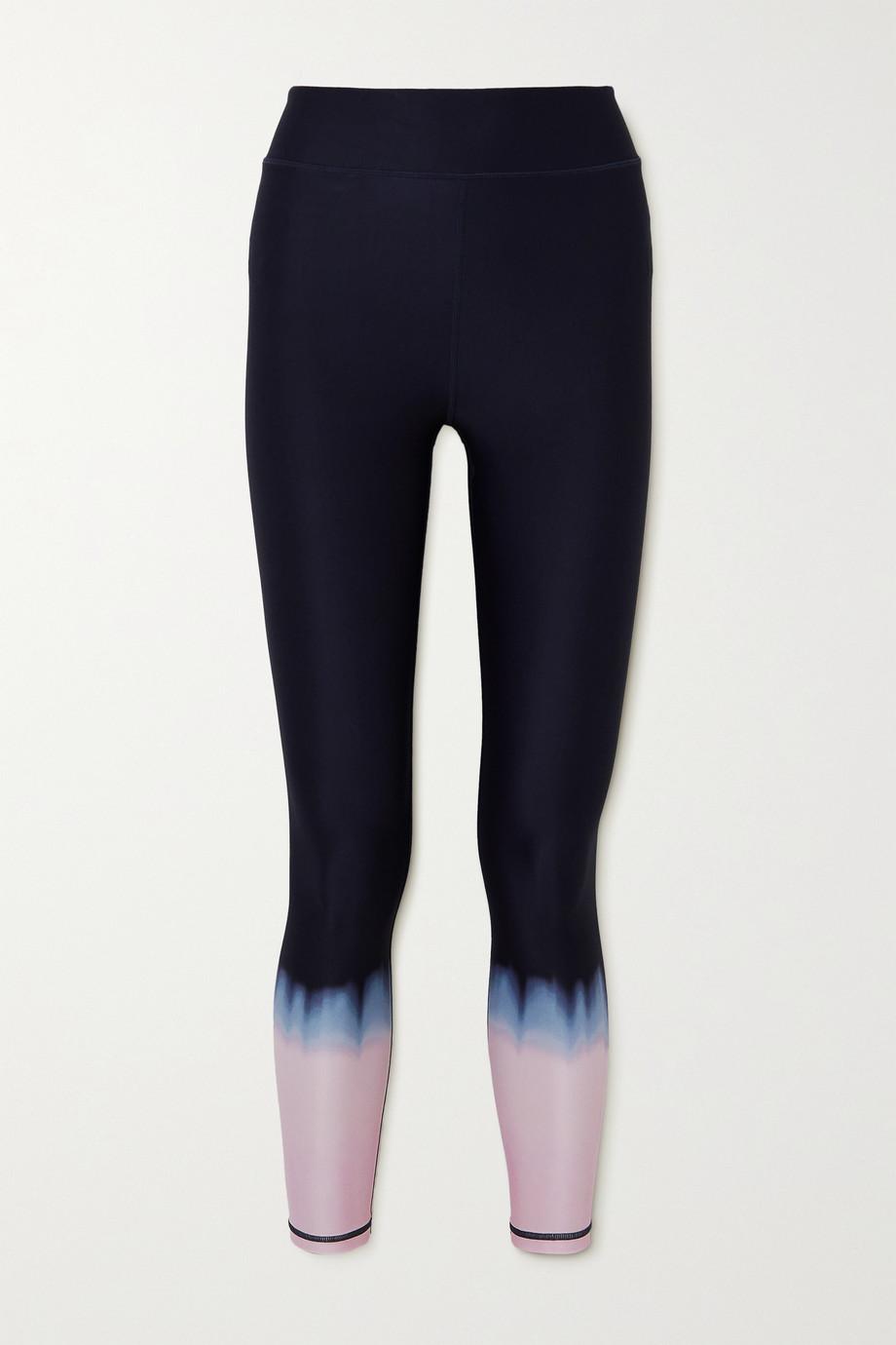 The Upside Legging stretch tie & dye Seawater