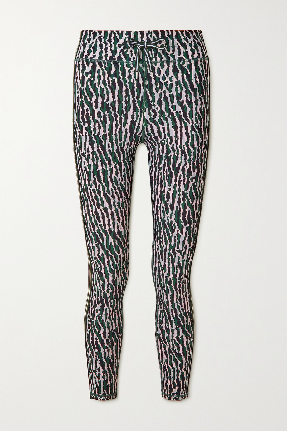 The Upside Camouflage-print stretch leggings