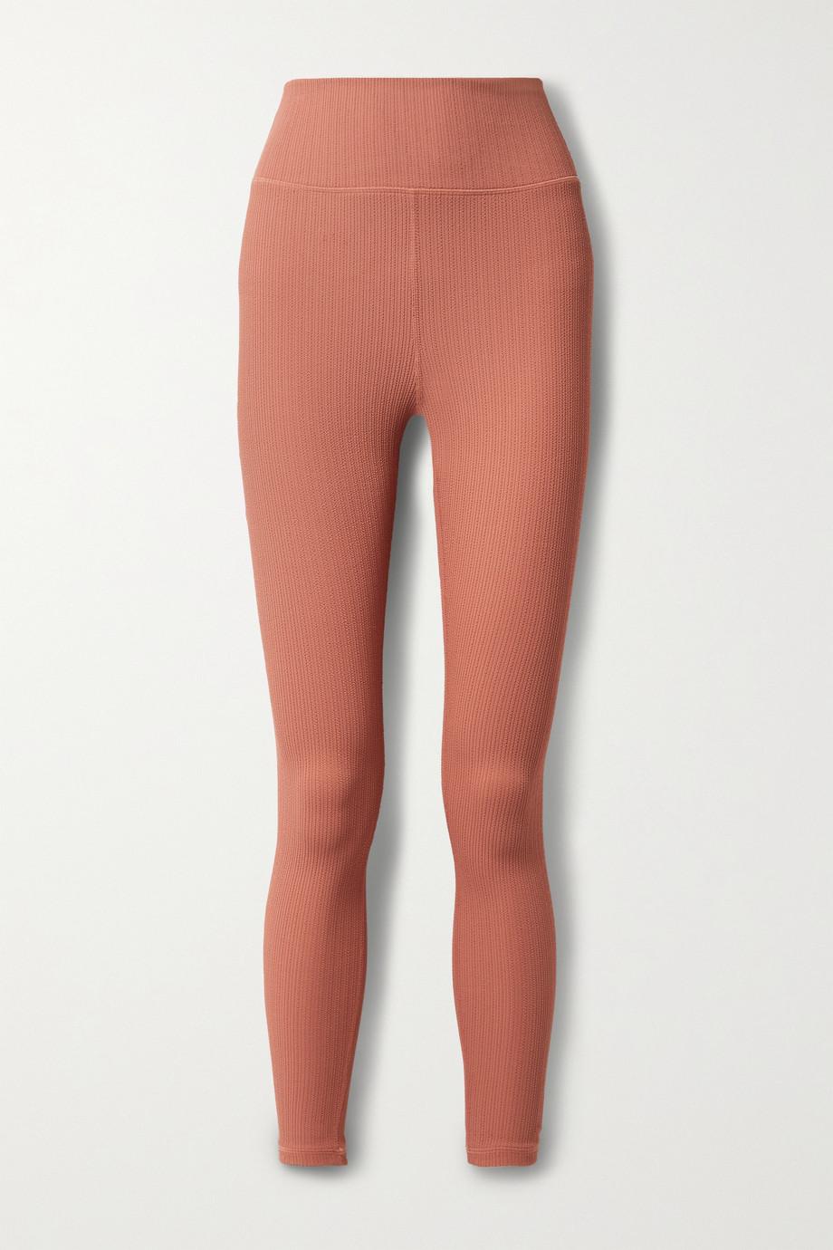 The Upside Dance stretch-jacquard leggings