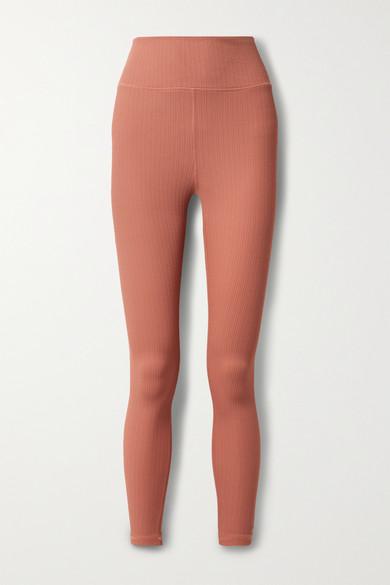 The Upside Clothing DANCE STRETCH-JACQUARD LEGGINGS