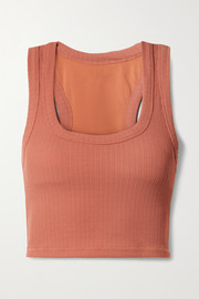 The Upside Leandra stretch-jacquard sports bra