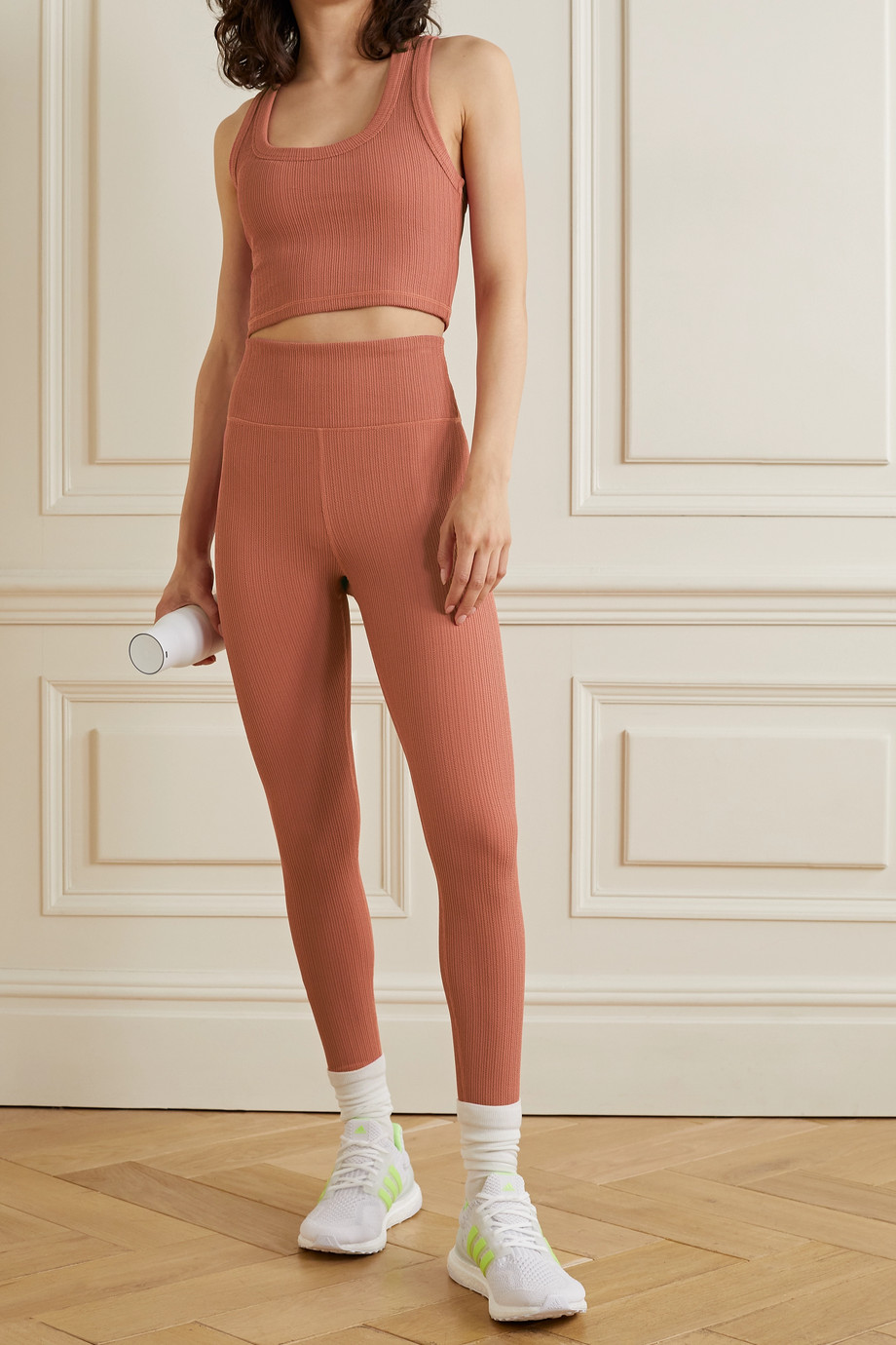 The Upside Leandra stretch-jacquard sports bra