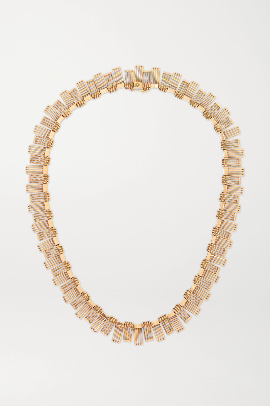 Fred Leighton 1940s 18-karat rose gold necklace