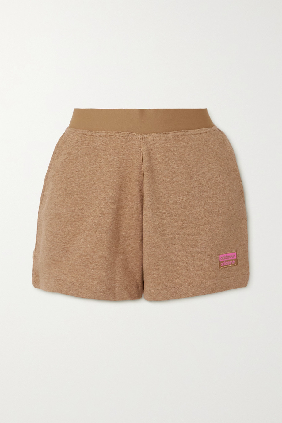 adidas Originals + Girls Are Awesome R.Y.V cotton-blend jersey shorts