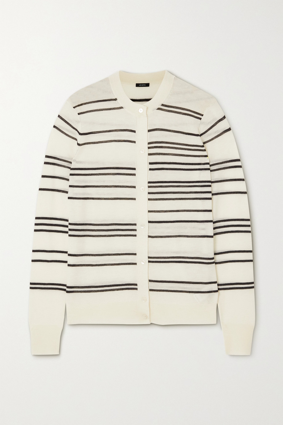 Joseph Striped cashmere cardigan