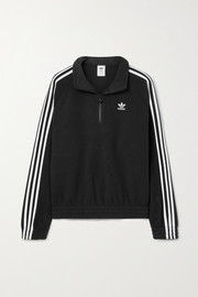 adidas Originals Adicolor Classics striped recycled fleece sweatshirt