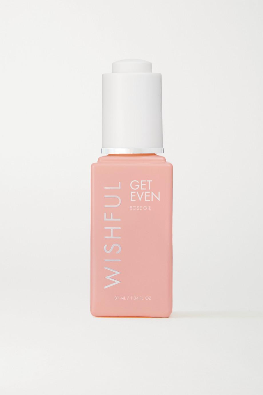 Huda Beauty Wishful Get Even Rose Oil, 31ml