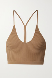 Dodo Bar Or Faye ribbed-knit bra top