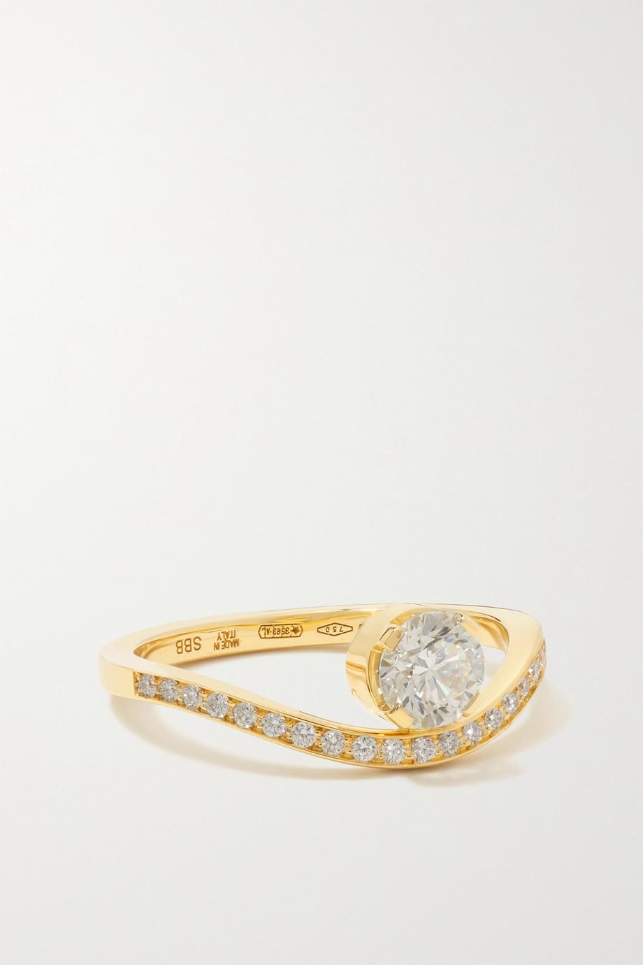 Sophie Bille Brahe Grace Royale 18-karat gold diamond ring